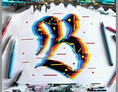 Cybergothic Calligraphy