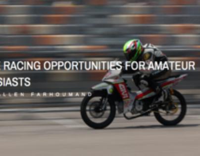 Samir Allen Farhoumand: Racing Opportunities for Amateu