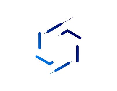 Ouroboros - High-tech consultant startup logo identity