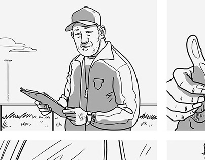 Storyboarding for TV Commercials (Proximus)