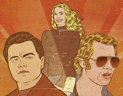 Fan art - Once Upon a Time in... Hollywood