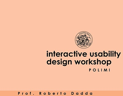 Interactive Usability Design Project