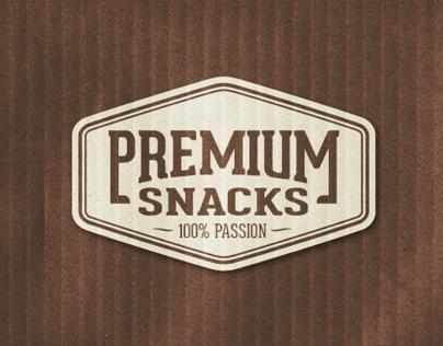 Premium Snacks Branding