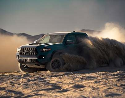 Toyota Tacoma shot by Lisa Linke