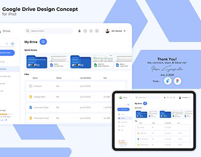 Google Drive Design Concept