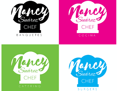 Chef Nancy Suarez Logotype