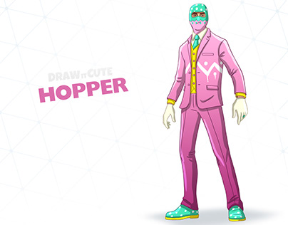 How to draw Hopper step-by-step guide | Fortnite season