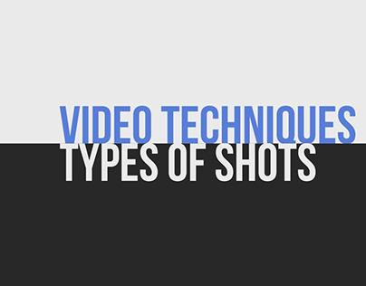 Video Techniques: Types of Shots
