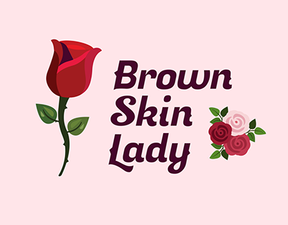 Brown Skin Lady Beauty / Care Branding