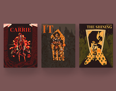 Book Cover Illustration Series