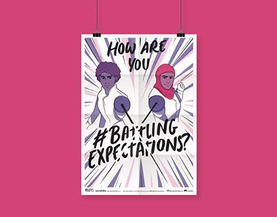 #BattlingExpectations Zine - a MGF project