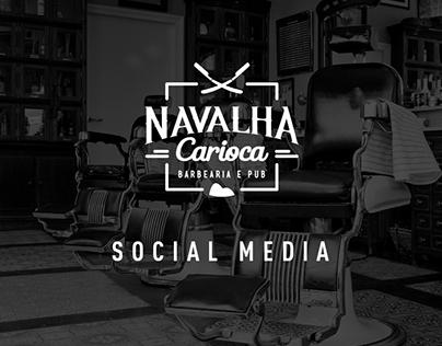 Social Media - Navalha Carioca Barbearia & Pub