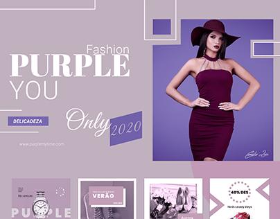 Coleção Purple You