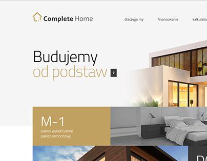 Complete Home - logo & website