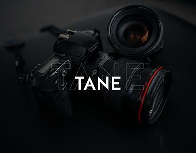 Tane / corporate website redesign