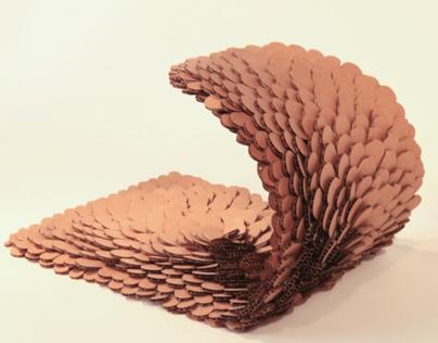 """3D Pattern Project """"wave"""" - work in progress"""