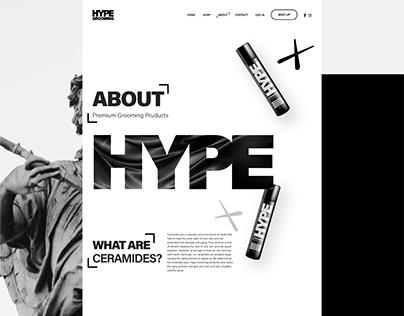 Hype Grooming - Website