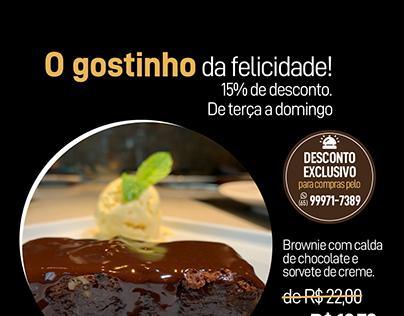 Sobremesa Brownie - Haus Beef