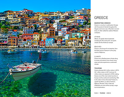 Marketing Greece • Layout Design
