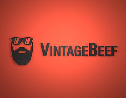 VintageBeef Brand Redesign