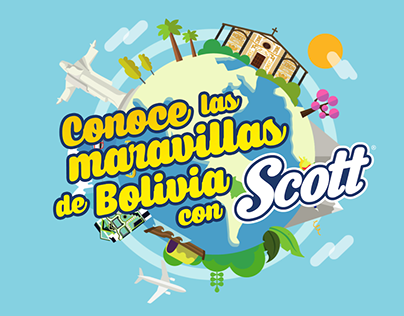 Animacion: Las maravillas de Bolivia con Scott