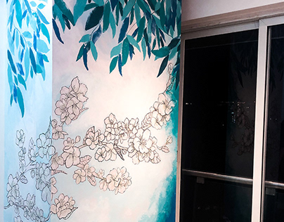 Bloom : Residential Mural Art
