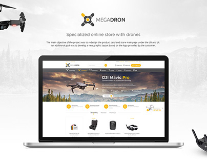 MEGADRON - Specialized online store with drones