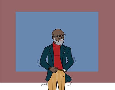 Drawing A Gentleman