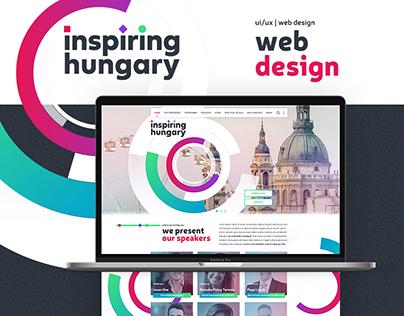 Inspiring Hungary web design