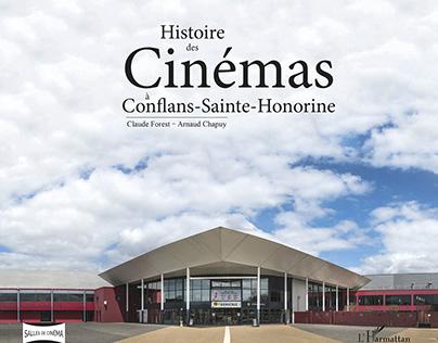 Livre - Histoire des Cinémas à Conflans-Sainte-Honorine