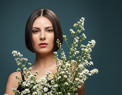 Lais e flores