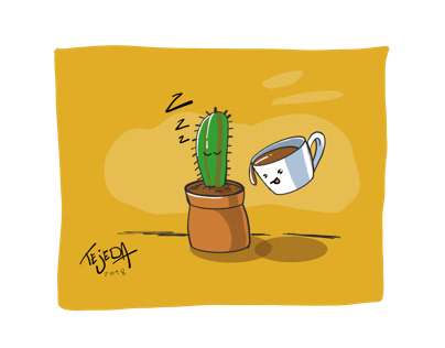 Cup and cactuZ