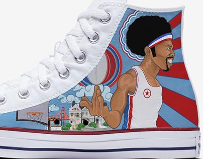 Dr.J Converse shoes