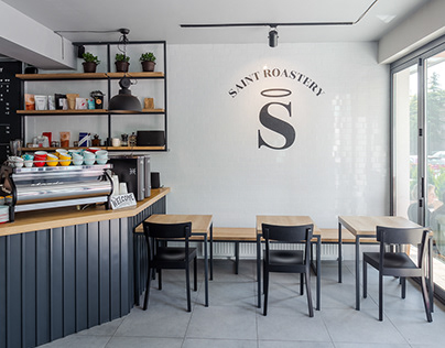 Saint Roastery- Interior Design