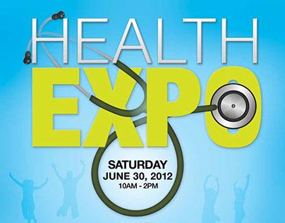 Health Expo Logo & Flyer Design