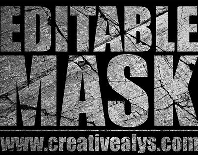 Editable Text Mask Tutorial | Adobe Illustrator