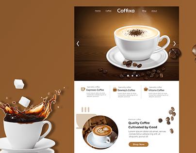 Coffee Shop Page