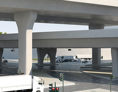 Proyecto de carreteras en Duhail