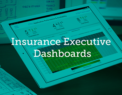 Insurance Executive Dashboards