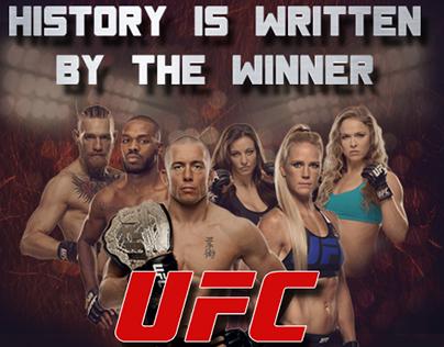 UFC Event promo materials for Web