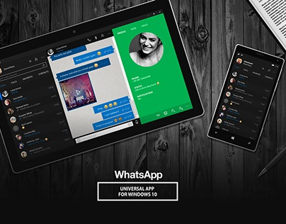 WhatsApp Universal app for Windows 10