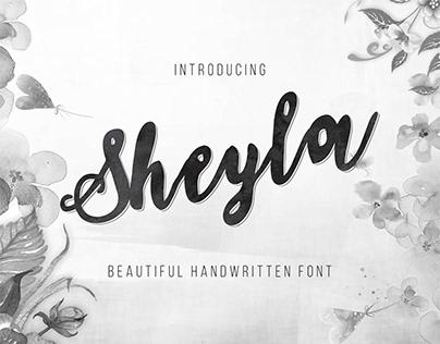 Sheyla - Beautiful Handwriting Font