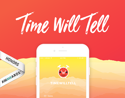 Time Will Tell - Social Messaging iOS App