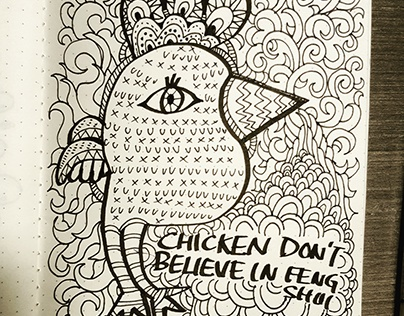 Doodles 21  - Chicken