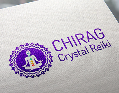 Chirag Crytal Reiki Branding