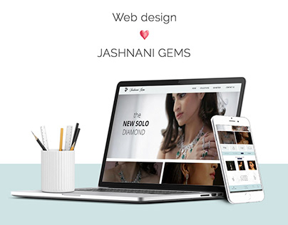 Website Design & Development for Jashnani Gems