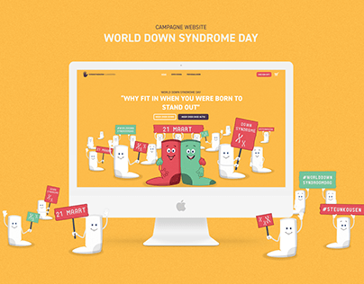 World Down Syndrome Day - Campagne Website