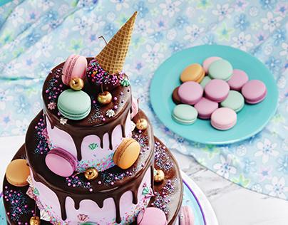 CAKE. CGI