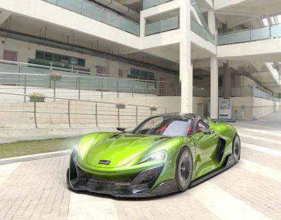 McLaren Elegance Visualization