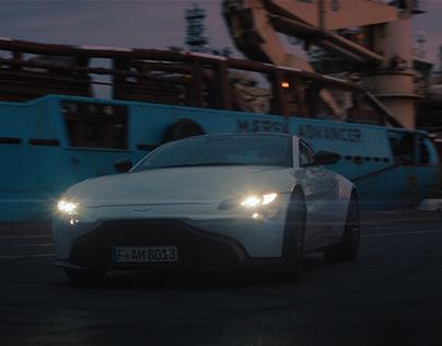 Aston Martin Vantage - Test Run